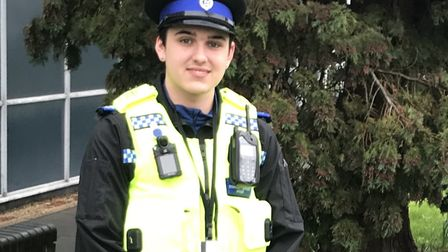 PCSO Charlie Crichton. Picture: Herts police