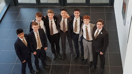 Team Verulam Enterprise, whose discount card raised £3,000 for The OLLIE Foundation. Picture: Commun