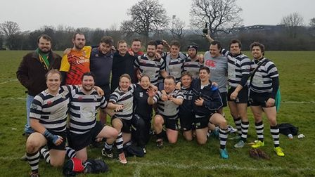 Royston Rugby Club are champions