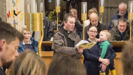 The St Albans Cathedral Easter Monday pilgrimage. Picture: Arun Kataria