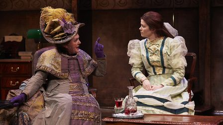 Gwen Taylor and Louise Coulthard in The Importance of Being Earnest