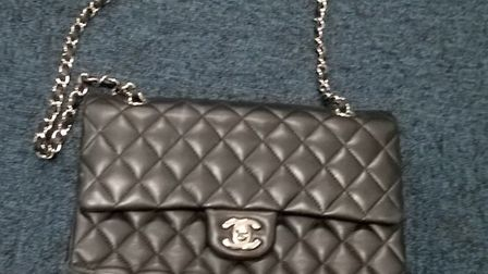 A Chanel handbag recovered from Oysterfields by police. Photo: Herts Police.