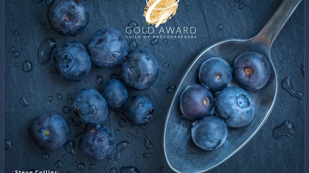 Blueberries by Steve Collins.