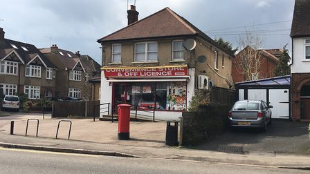 Convenience store and off licence, Sandridge Road, St Albans