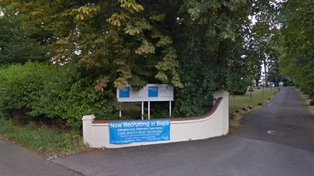 Tenterden House Care Home. Picture: Google Maps