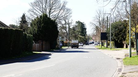 Watford Road in St Stephens. Picture: DANNY LOO
