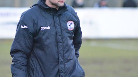 St Ives Town manager Ricky Marheineke was impressed by the efforts of the club's fans, but not the p