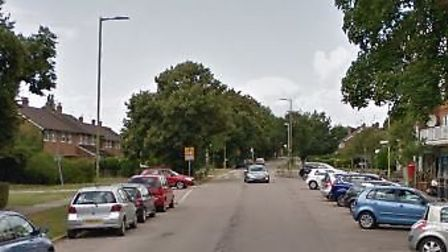 A section of Cell Barnes Lane, the road where the burglary took place. Photo: Google.