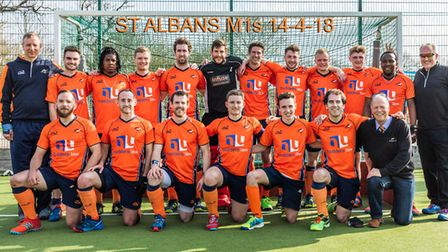 St Albans Hockey Club men just missed out on promotion to the national leagues. Picture: CHRIS HOBSO