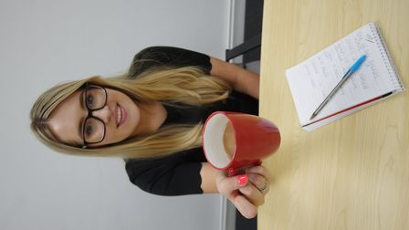 Kaatie Ridley loves a cuppa