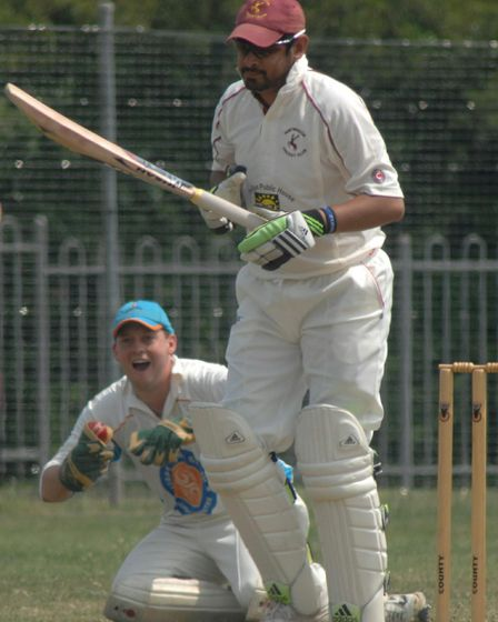 Navid Ahmed is the new captain of Huntingdon & District.