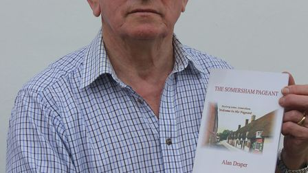 Alan with the book.