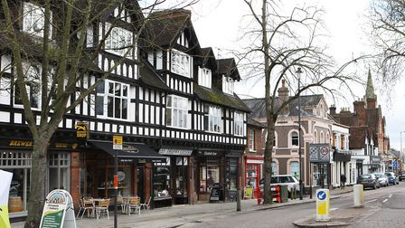 Berkhamsted high street offers a mix of national chains and independents (Picture: Karyn Haddon)