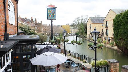 The Boat is one of several popular pubs along the canal in Berkhampsted (Picture: Karyn Haddon)