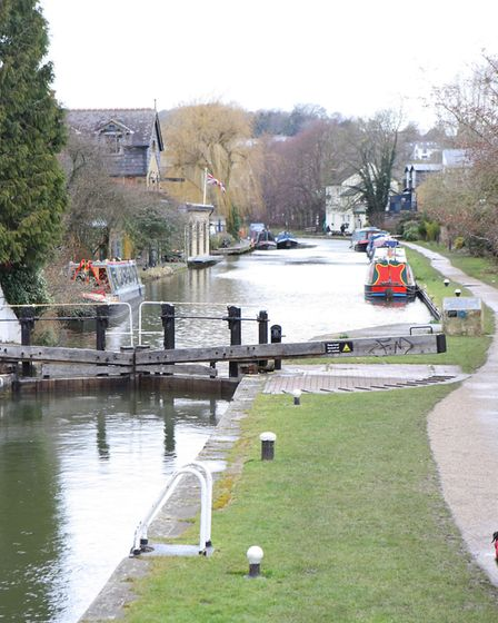 The Grand Union Canal, Berkhamsted (Picture: Karyn Haddon)