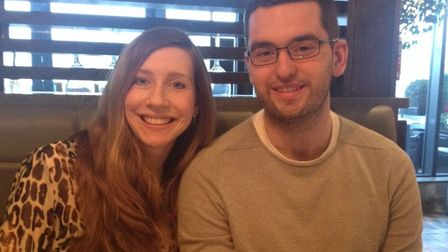 Emma Barham and Simon Bird have asked wedding guests to donate to two charities instead of buying th