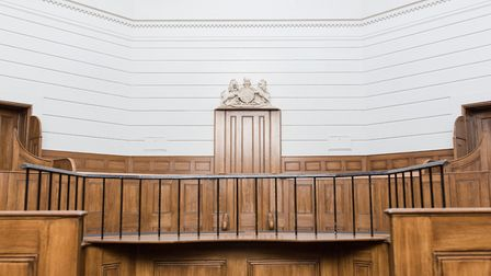 St Albans Museum courtroom.