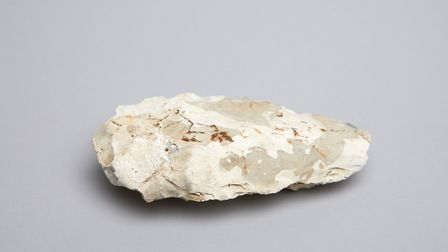 A Palaeolithic axe.