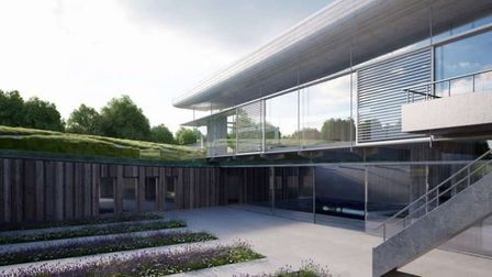 """How the """"innovative"""" house will look"""