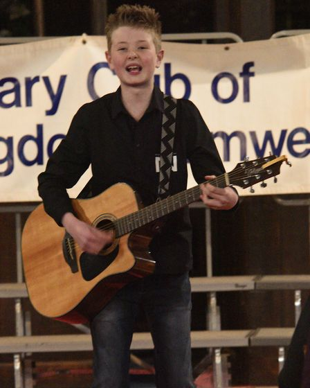 The Rotary Club of Huntingdon Cromwell's Sing for Spring at Brampton church. Picture: ARCHANT