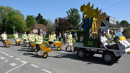 There was lots to see and do at the 50th celebration. Picture: Thriplow Daffodil Weekend