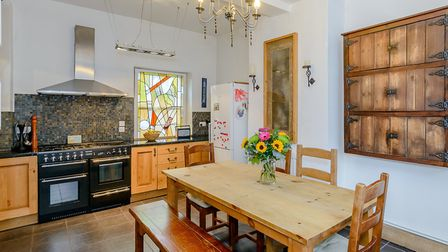 The well presented kitchen/breakfast room has enough space for a table and chairs