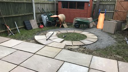 The work was undertaken by Bosch Home and Garden and St Albans based gardening company Kiwi Greenfin