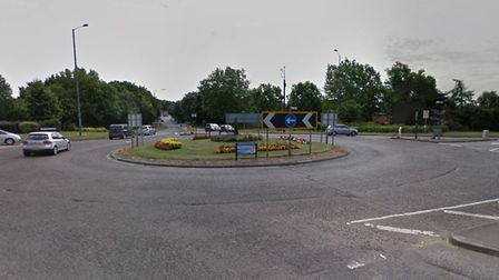 Redbourn Road roundabout. Picture: Google Maps