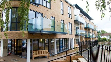 Parkside View apartments in St Albans won the Design Excellence award in 2015