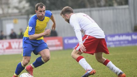 Ben Herd has re-signed for another season with St Albans City. Picture: BOB WALKLEY