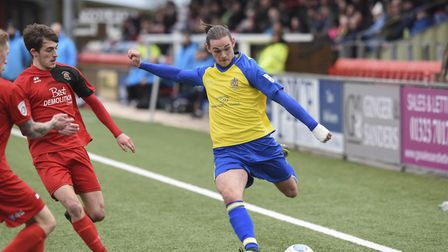 Tom Bender has re-signed for another season with St Albans City. Picture: BOB WALKLEY