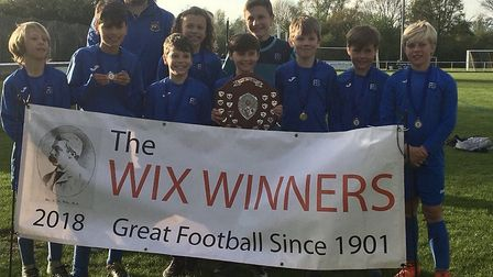 Fleetville School boys won the Wix Cup seven-a-side tournament for the fourth time in three years.