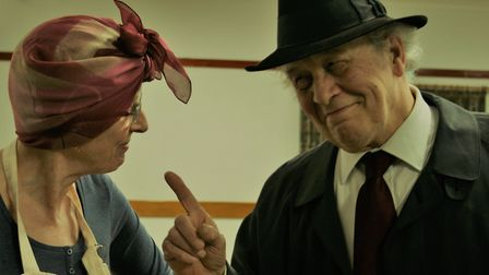 Baxter and Lily Piper played by Peter Birchall and Ruth Black.