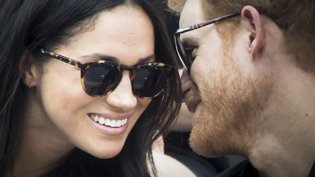 Prince Harry and Meghan Markle at the 2017 Invictus Games in Toronto, Canada. Photo: Danny Lawson/PA