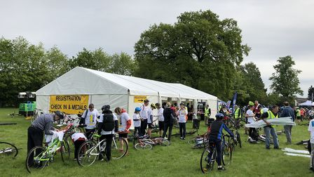 The St Albans Charity Cycle Ride (Picture: Karen Mullinex)
