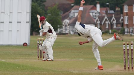 Gregg Cooper got to 51 before rain forced Harpendens game with West Herts to be abandoned. Picture: