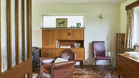 Original mid-century features have been preserved and sensitively modernised