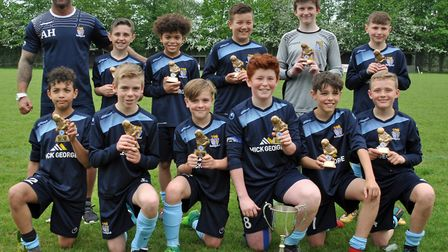St Neots Town Under 12s enjoyed an honours double.