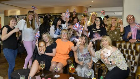 The royal wedding celebrations at the Duchess, in Fenstanton. Picture: DUNCAN LAMONT