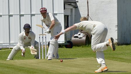 Graham Hudson hit a century for Huntingdon & District in their Sunday success at Spalding. Picture: