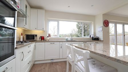 The property is located within a mile of the mainline station and the city centre