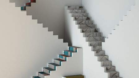 All rise: carpets displayed for inspiration by Covet House (www.covethouse.com)