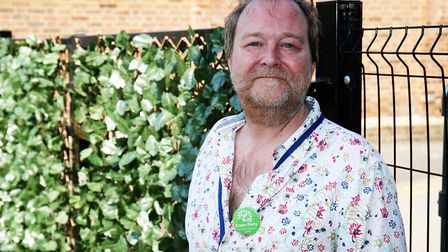 Green Party candidate for St Peter's ward Keith Cotton. Picture: DANNY LOO