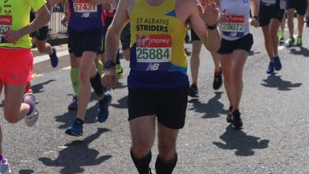 St Albans Striders' Chris Barr. Picture: TONY BARR