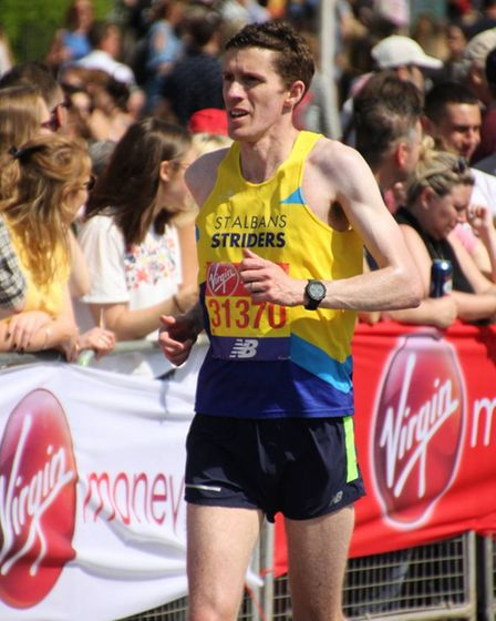 St Albans Striders' Phil Evans. Picture: GRAHAM SMITH