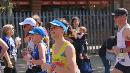 St Albans Striders' Rachel Brown. Picture: TONY BARR
