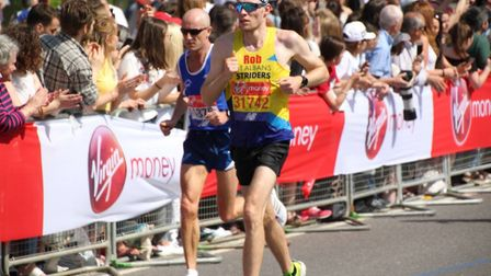 St Albans Striders' Rob Spencer. Picture: GRAHAM SMITH
