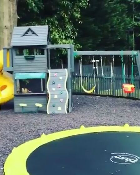 Luisa's girls have no excuse to be bored with this fabulous playground (@luisazissman/Instagram)