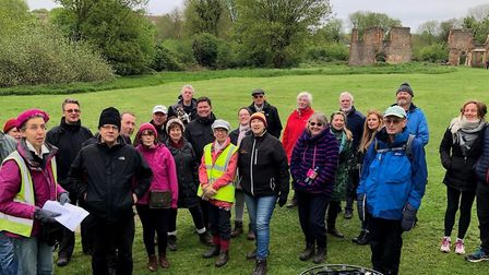 Sopwell Secrets event - a guided tour of the history of the local area run by Sopwell Residents Asso