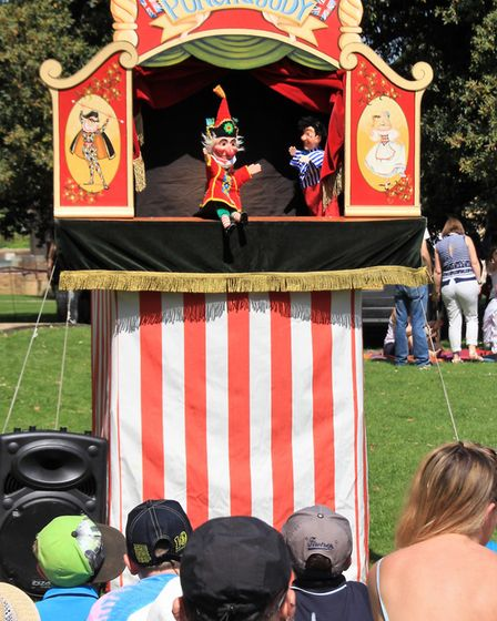 The Punch and Judy Show. Picture: Clive Porter